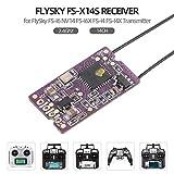 Flysky FS-X14S Receptor 2.4GHz 14CH PPM i-Bus S.Bus Salidas de señal para Flysky FS-I6 NV14 FS-I6X FS-i4 FS-I4X Transmisor