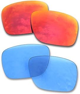 Para Oakley Holbrook Gafas de sol 2 Pares Lentes de repuesto polarizadas