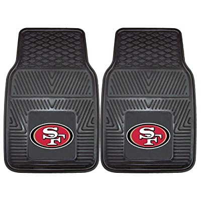 FANMATS NFL San Francisco 49ers Vinyl Car Mat