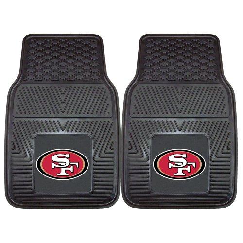 FANMATS 8902 NFL San Francisco 49ers Vinyl Heavy Duty Car Mat, 18'x27'