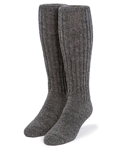 Warrior Alpaca Socks - Second to None Thick Alpaca Terry Lined Boot Socks - Unisex