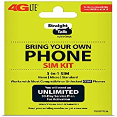 Compatible with At&T GSM phones with Micro, standard or Nano SIM cards Convert your current compatible or Unlocked phone into a prepaid phone This item will ONLY work on GSM based phones, NOT CDMA based phones. Micro SIM, Nano SIM, Standard SIM - Tri...