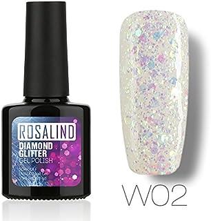 ROSALIND esmalte en gel para uñas Soak Off UV LED manicura pedicura diamante salón 10 ml(1)