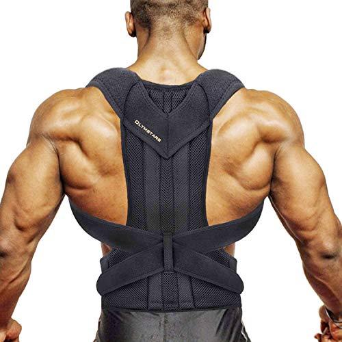 Corrector Postura Espalda, Olymstars Corrector Espalda Ajustable Respirable para...