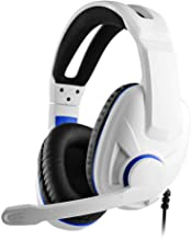 Gaming Headphones for PS5, PS4, Gaming Headset with Noise Cancelling, Surround Sound, Over Ear Buds, 3.5mm Stereo Wired He...