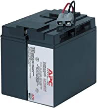 APC UPS Battery Replacement, RBC7, for APC Smart-UPS Models SMT1500, SMT1500C, SMT1500US, SUA1500, SUA1500US, SUA750XL and...