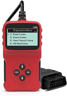 mewmewcat Detector de falhas automotivas Ferramentas de diagnóstico automotivo Cartão de leitura Reparação de automóveis F...