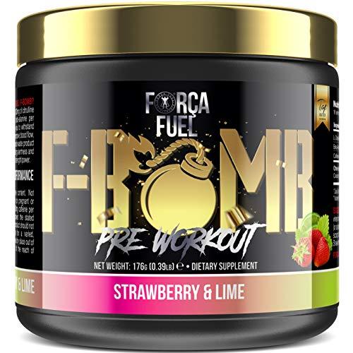 Suplemento Pre Entreno (Best Selling Pre Workout) | Trabajar el musculo | Quemar grasa | Aumentar la fuerza y el rendimiento | Mejorar el enfoque | Reducir la fatiga | Força Fuel F-Bomb
