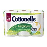 Cottonelle Gentle Care Double Roll Toilet Paper, 12 Count
