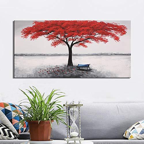 Kunst farbe pferd leinwand malerei tier bild für wohnzimmer wandkunst druck moderne dekoration (kein rahmen) A4 40x80 CM