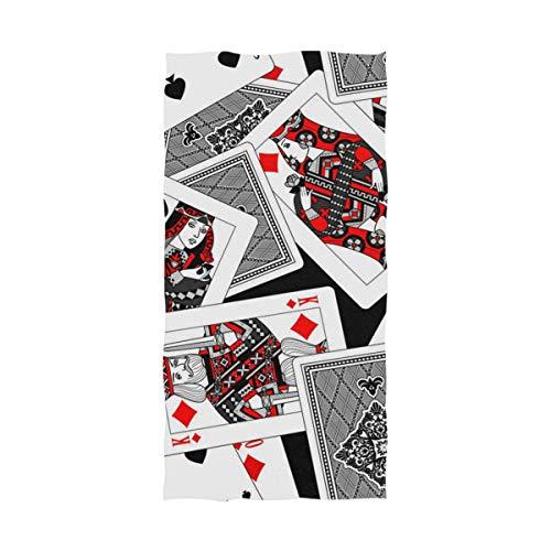 Casino Playing Card Towel