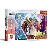Trefl- Schwestern in Die Eiskönigin, Disney Frozen 2 200 Teile, für Kinder AB 7 Jahren Puzle, Multicolor (13249)