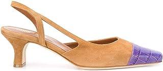 Luxury Fashion | Paris Texas Women PX201XSACAGC2828PRINT Brown Suede Heels | Spring-summer 20