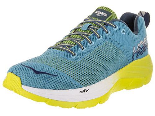 HOKA ONE ONE Men's Mach Niagara/Sulpher Spring Running Shoe 9 Men US