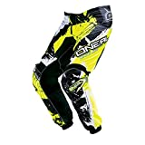 O'NEAL Element Kinder MX Hose Shocker Neongelb Motocross Enduro Offroad, 0124S-62, Größe EU 26/42,...