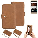 K-S-Trade® 2in1 Mobile Phone Wallet Case For Allview X4