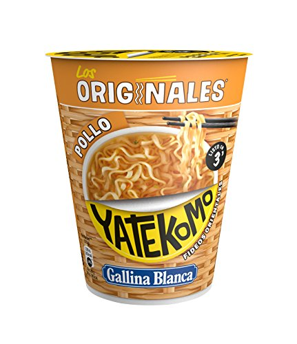 Yatekomo Los Originales Pollo Fideos - Paquete de 8 x
