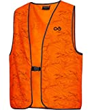 K&S Wildkameras Merkel GEAR HighViz - Chaleco reflectante de caza, color naranja