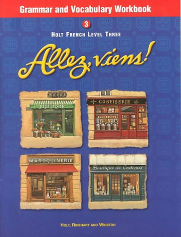 Allez, Viens! French, Level 3 - Grammar and Vocabulary Workbook