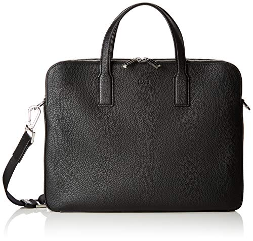 BOSS Herren Crosstown_s Doc Zips Business Tasche, Schwarz (Black), 4x29x38 cm