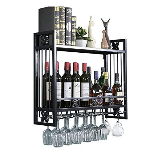 Le Bar Plateau De Rangement Pour Bouteilles De Vin En Fer Et Verre Pour La Maison La Cuisine Casiers Et Meubles A Vin