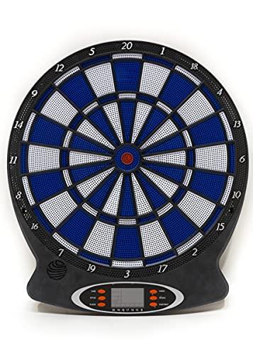 Diana Electronica Digital. Incluye 6 Dardos para 8 Jugadores y Puede Grabar hasta 18 Juegos. Marcador con puntuación automática para fácil Registro y Lectura