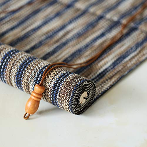 CORTINA Bambú persianas de Rodillo, Impermeable Anti-Moho Retro Decorativos bambú for Exterior/Interior - 60/70/80/90/100/110/120/130/140 Ancho (Size : 140x240cm)