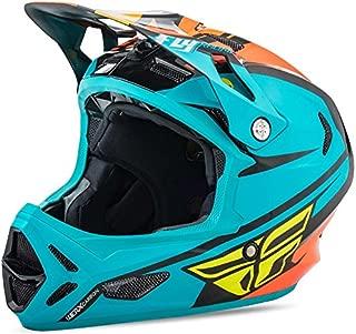 Fly Racing werx Mips Rival Casco Mountain Bike & BMX, Teal de naranja de color negro, Downhill