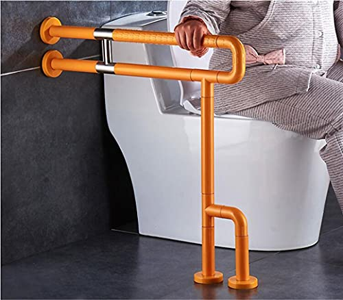 Grab Bars for Bathroom, U-Shaped Toilet Grab Bar, Wall-mounted Safety Handrail, Stainless Steel Handicapped Support Rail, for Elderly Disabled, Sturdy and Durable Floor Handrail Toilet Auxiliary Handr