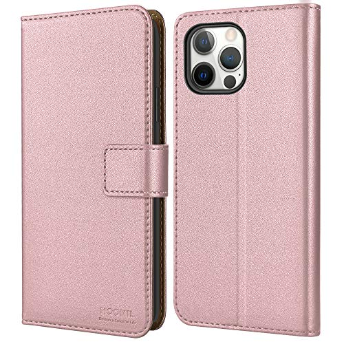 HOOMIL Classic Business Funda Compatible con iPhone 12 y Com