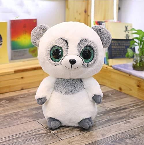 Cartoon Grote Ogen Dier Knuffel, Gevulde Panda Zachte Poppen Speelgoed, Verjaardagscadeau Voor Kinderen Baby 18Cm 1 Stuks