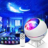 Galaxy Projector 3 in 1 Ocean Wave Projector Night Light Star Projector with Remote Voice Control, Galaxy Cloud 360 Pro Star Projector for Ceiling for Adults Kid Adult Bedroom Gift with 43 Light Modes