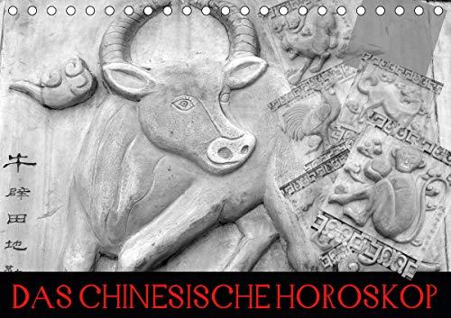 Das Chinesische Horoskop/Geburtstagskalender (Tischkalender 2021 DIN A5 quer)