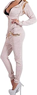 FSSE Women Gym Workout Casual Sport Hoodie Sweatshirt+Pants Tracksuits Outfits