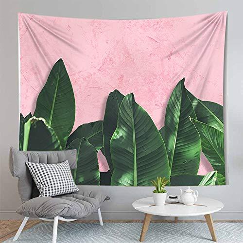 PPOU 3D arazzo foglia Verde piante Tropicali appeso a parete decorazione Della parete Della casa arazzo sfondo panno appeso panno A6 130x150cm