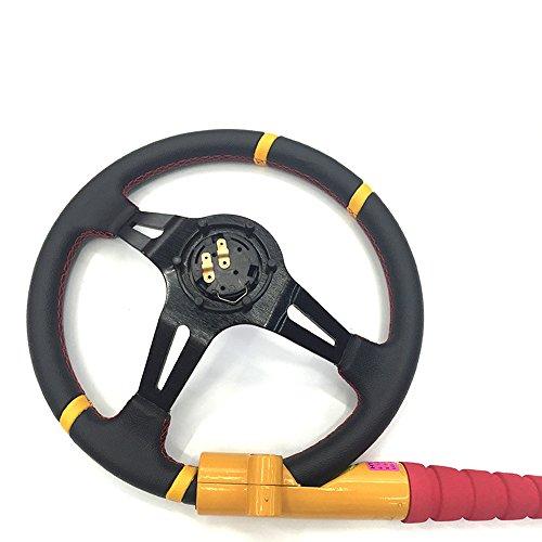 AUTLY Heavy Duty Anti-Theft Car Steering Wheel Lock Universal Vehicle Security Lock Baseball Bat