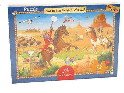 Boîte puzzle Capt´n Sharky   À la conquête du Far West ! Die  72 pièce