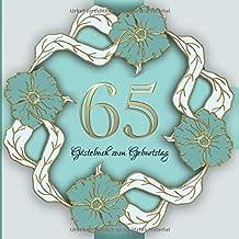 Gästebuch Zum Geburtstag 65 Jahre I Edles Vintage Cover In