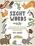 Sight Words - Activities That Target The Most High Frequency Words In The English Language For Reading Readiness: A Beginner Phonics Workbook | Learn ... | Primer And Pre-Primer Decoding Made Easy