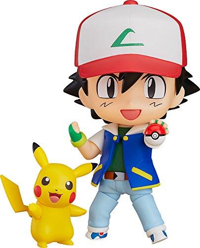 Pokémon - Satoshi / Ash & Pikachu [Nendoroid 800][Importación Japonesa]