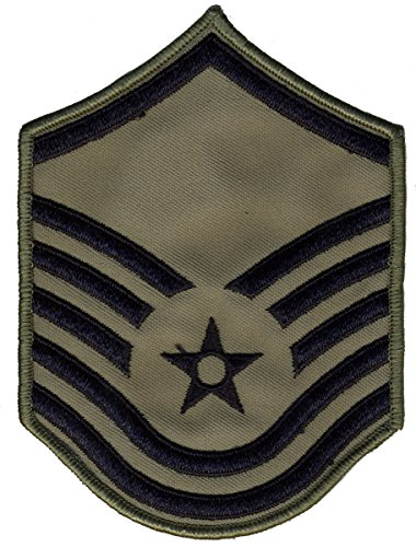 Air Force Chevrons for ABU Uniform-PAIR-LARGE OR SMALL (LARGE, MSGT)