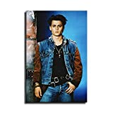 Johnny Depp Poster Picture Art Print Canvas Wall Decoration -100 (12x18inch-No frame)