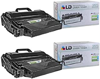 LD Compatible Dell 330-9787 (1TMYH) Set of 2 High Yield Black Toner Cartridges for Your Dell 5530dn/5535dn Printers