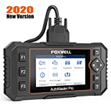 FOXWELL NT624 Elite Automotive Obd2 Scanner All Systems Diagnostic Scan Tools for All Cars with Oil Reset and EPB Service, Check Engine Transmission ABS SRS EPS HVAC Body Headlight, ect.