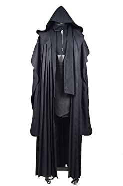 CosDaddy Mens Cosplay Costume Tunic Robe Uniform Cosplay Costume Linen Version