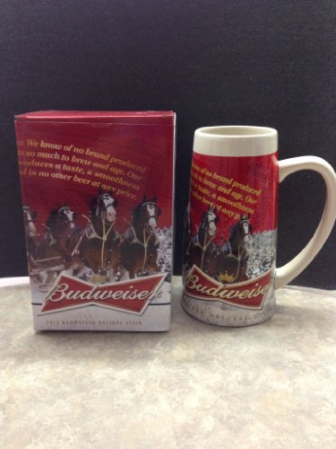 2013 Budweiser Holiday Stein