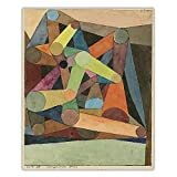 Paul Klee Poster 《Open Mountain》 Abstrakte Leinwand