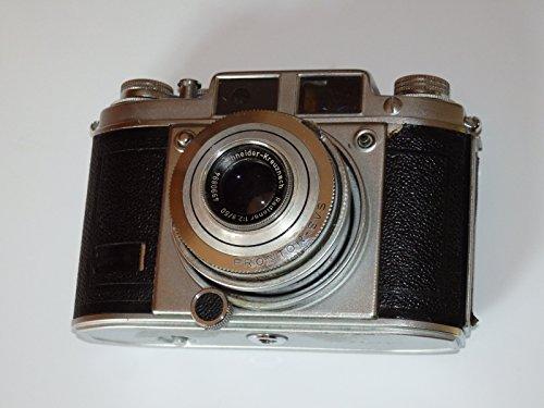 FOTOTECHNIK BY LLL BALDA - Kleinbildkamera 24 x 36 mm - Kleinbildfilm 135 incl. Objektiv: Schneider-Kreuznach Radionar 1: 2,9/50 mm/Springtubus Verschluss PRONTOR 250 SVS ## Sammlerstück ##