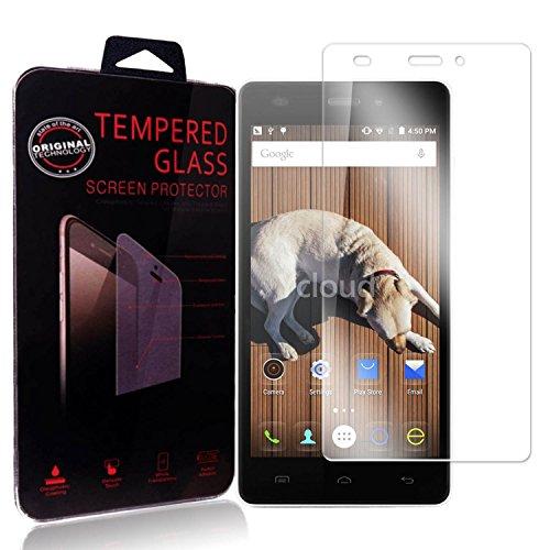 Ycloud Panzerglas Folie Schutzfolie Bildschirmschutzfolie für Doogee X5 / X5 Pro / X5S (5 Zoll) screen protector mit Festigkeitgrad 9H, 0,26mm Ultra-Dünn, Abger&ete Kanten