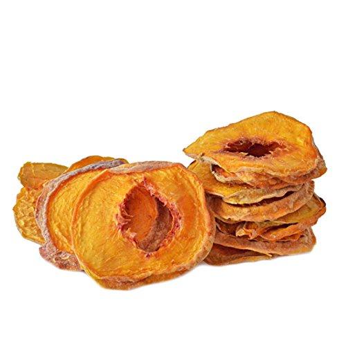 Pfirsiche | getrocknet | Natur, Premium Qualität, ungezuckert, ungeschwefelt, 350 g